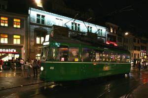 Bilder Partytram in Basel